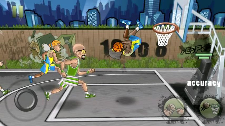 Streetball Free- screenshot