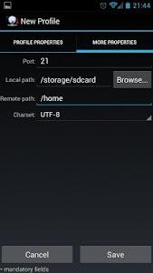 FtpCafe FTP Client v2.5.1 (Pro)
