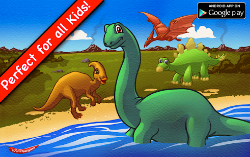 Amazing Dino Puzzle For Kids