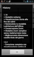 Screenshot of ePrex Liturgia delle Ore