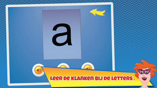 Juf Jannie - letters flitsen- screenshot thumbnail