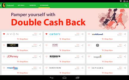 Ebates Cash Back & Coupons Screenshot 21