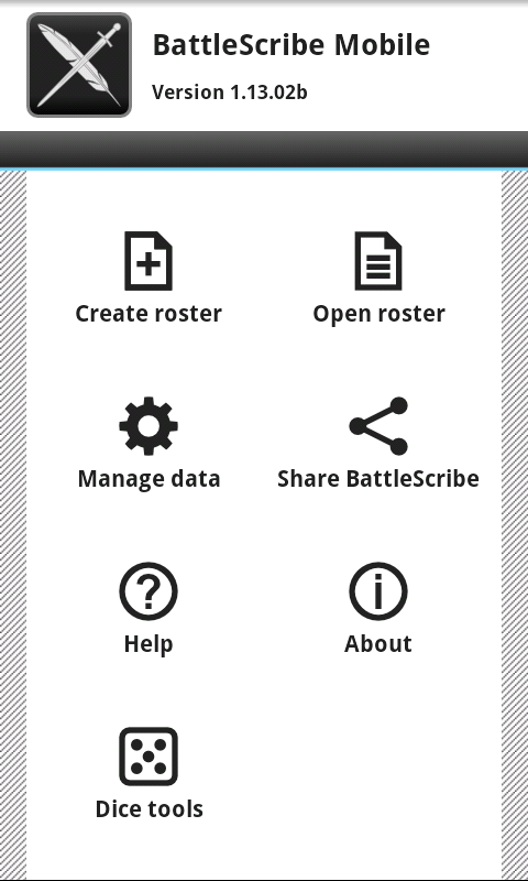 BattleScribe Mobile Pro - screenshot
