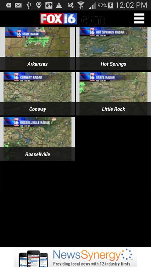 KLRT - FOX16 Weather - screenshot