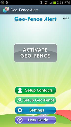 Geo-Fence Alert
