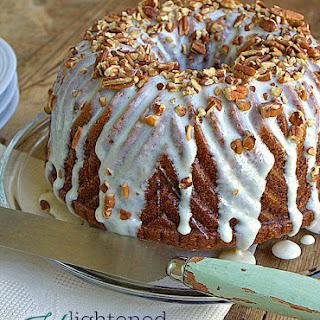 Lightened Hummingbird Bundt Cake.