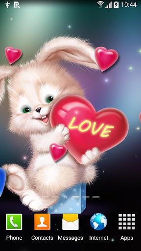 mod Cute Bunny Live Wallpaper 1.0.7 screenshots 3