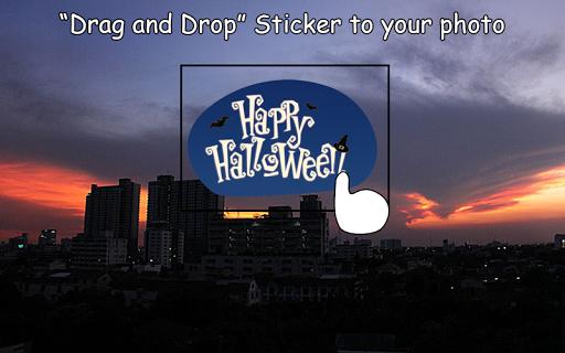 Halloween Sticker Camera