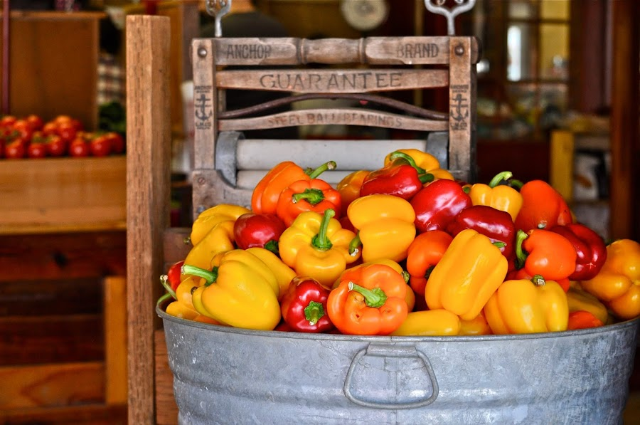 Beautiful produce from Lone Pine Farms.  Photo by Janet Young-Abeyta~ by Janet Young- Abeyta - Food & Drink Fruits & Vegetables (  )