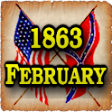 1863 Feb Am Civil War Gazette logo