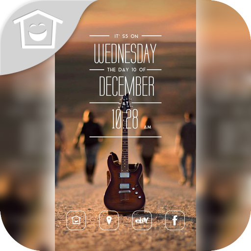 個人化App|音樂之旅吉他主題 LOGO-3C達人阿輝的APP