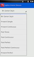 Screenshot of English Grammar Book