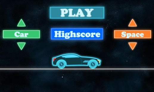 Neon Race - Hill Climb- screenshot thumbnail