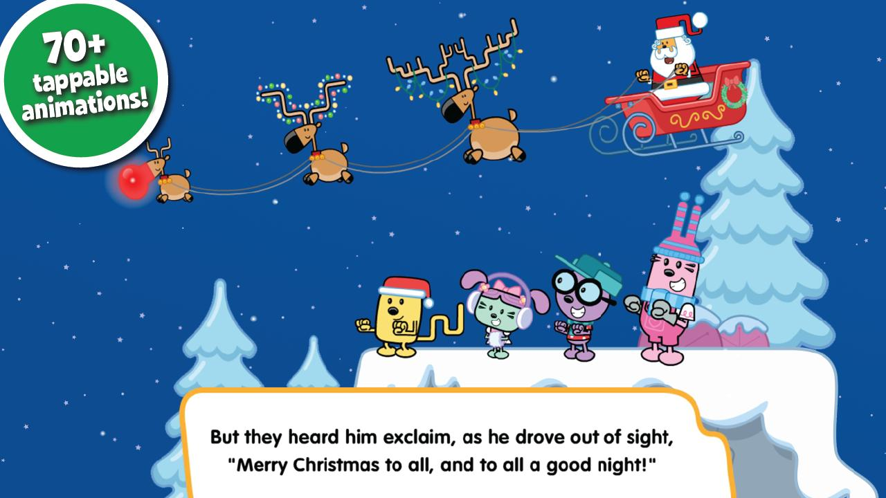 Wubbzy Night Before Christmas- screenshot