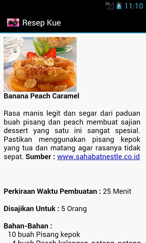 Resep Kue - screenshot