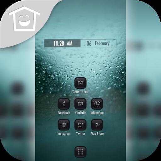 雨滴細雨窗口主題 個人化 App LOGO-APP試玩