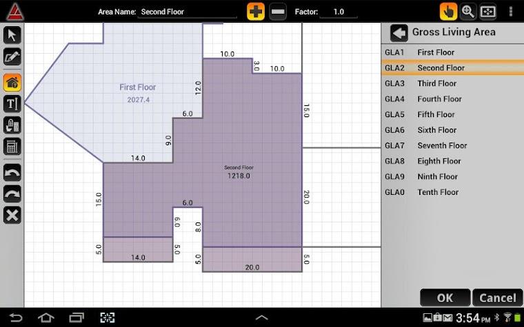 Apex MobileSketch™ Screenshot