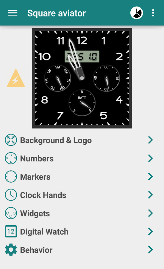 Watch Faces for Android Wear - screenshot