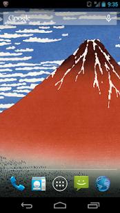 浮世絵ライブ壁紙-葛飾北斎 富嶽三十六景Vol.1