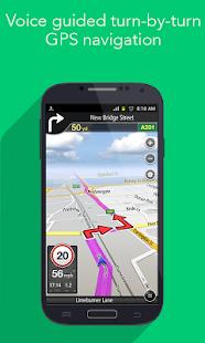 [Navfree: Free GPS Navigation] Screenshot 1