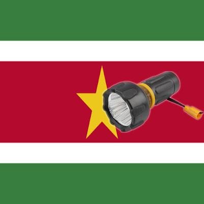 Lantern flash screen Suriname