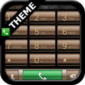exDialer Brass Theme