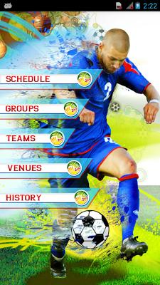 Football 2014 Schedule - screenshot