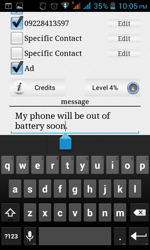 Notify- screenshot