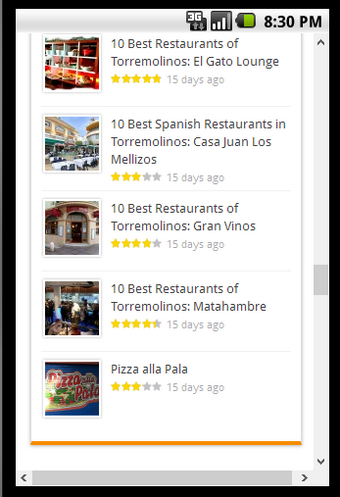 Best Restaurants Torremolinos
