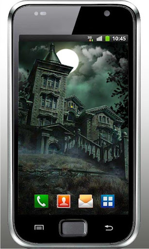 Horror House HD live wallpaper