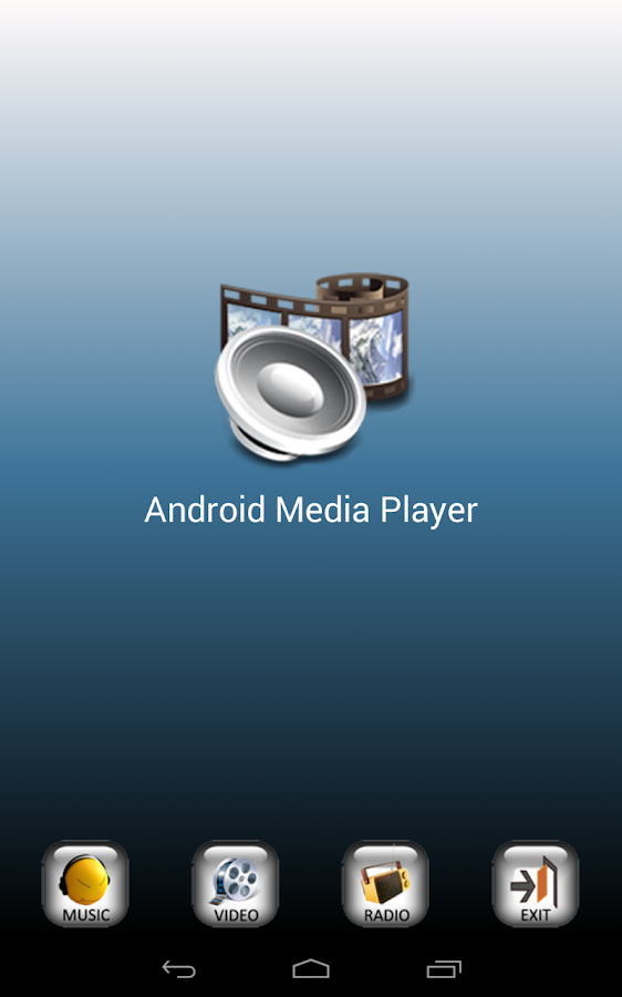 Android Media Player - screenshot