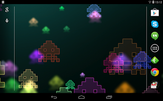 Screenshot of Space Invaders Live Wallpaper