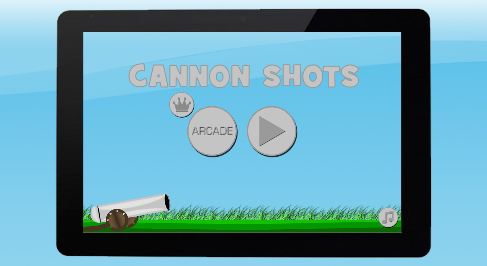 Cannon shots- screenshot