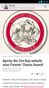 NFPA News - screenshot thumbnail