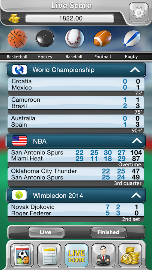 Sportsbook Game - Bookie- screenshot