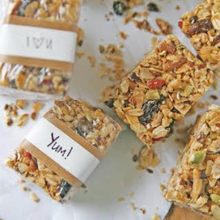Fruit and Nut Granola Bars.