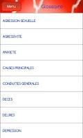 Screenshot of Urgences Psychologiques