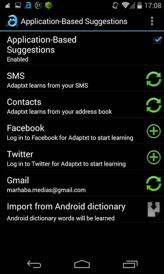 Adaptxt – Free Keyboard - screenshot