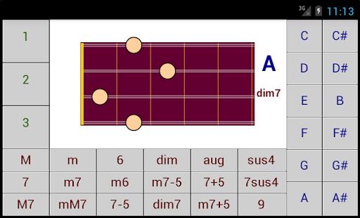 DG Mandolin Chords screenshot 1