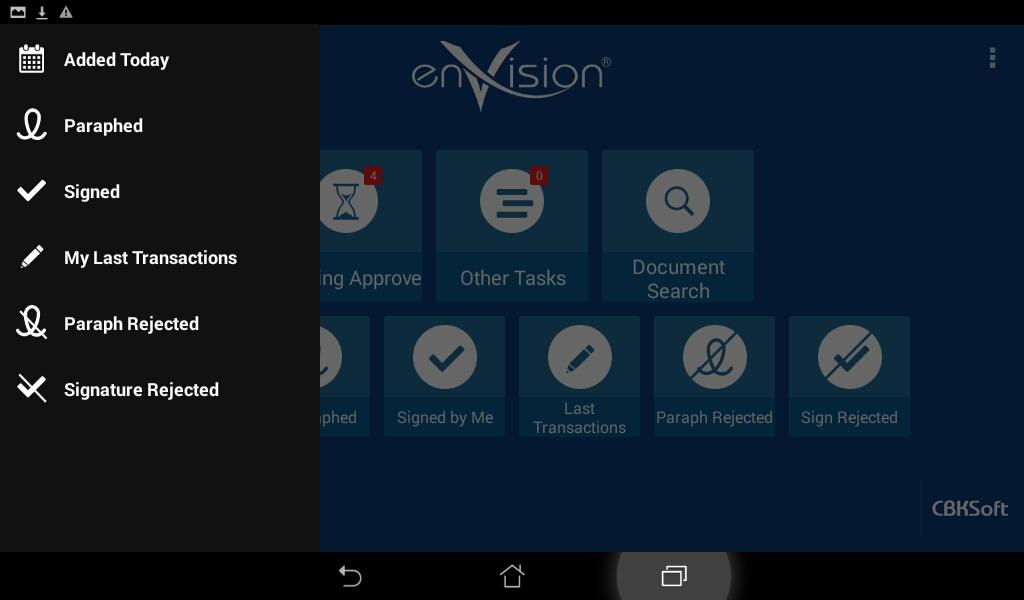 enVision Mobile- screenshot