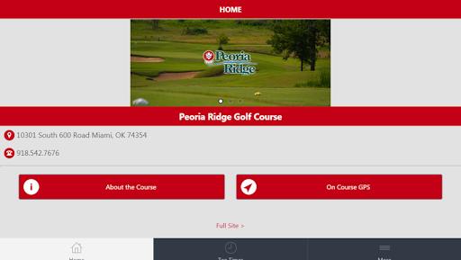 Peoria Ridge Golf