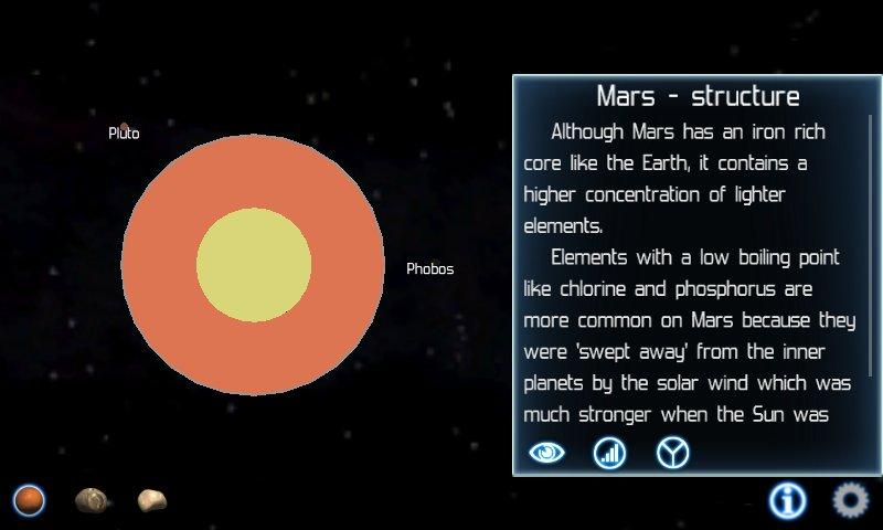Solar System Explorer Lite - screenshot