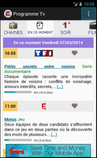 Programme Tv Guide Tv - screenshot