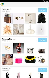 Wanelo Shopping - screenshot thumbnail