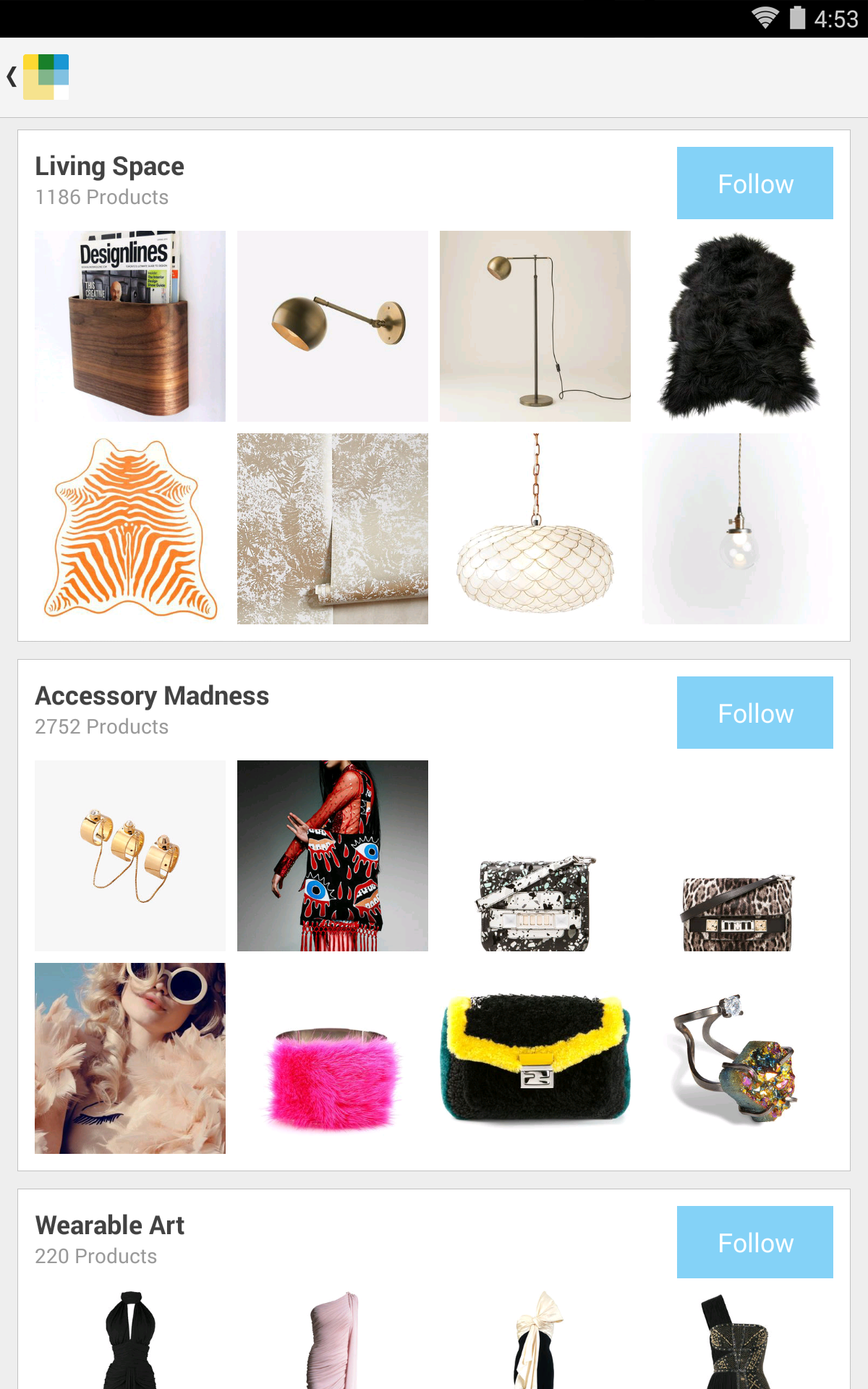 Wanelo Shopping screenshot #15