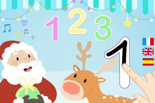 123 Christmas - Learn to Count