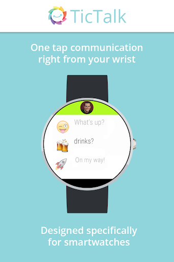 TicTalk chat on Android Wear
