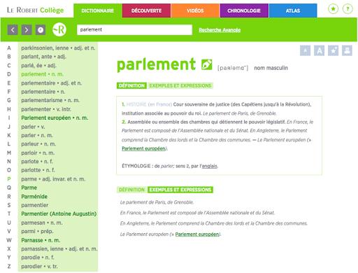 玩教育App|Le Robert Collège Éducation免費|APP試玩