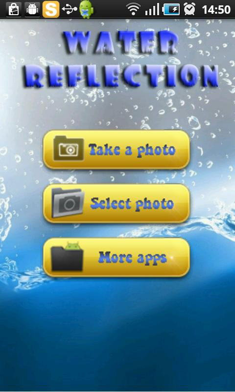 Photo Water Reflection - screenshot