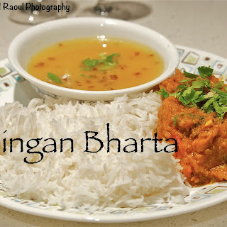 Weeknight Baingan Bharta.